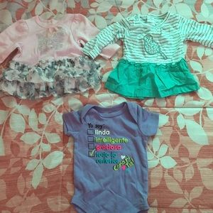 NEW BABY CLOTHES LOT